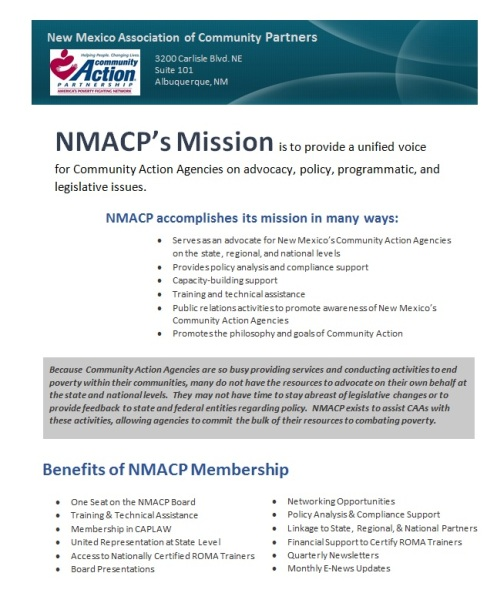 NMACP Membership benefits